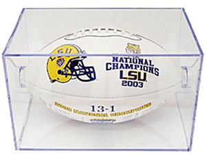 Baden Football Plexiglass Display Case