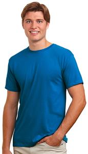 AlStyle Deluxe Adult Jersey Fitted Crew Neck Tee