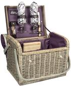 Picnic Time Kabrio Wine and Cheese Basket