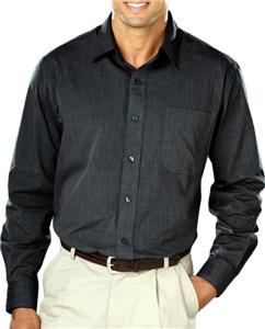 Blue Generation Men's Heathered Crossweave Shirts