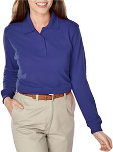 Blue Generation Ladies Long Sleeve Polo