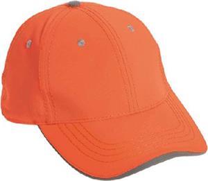 Game Sportswear 6 Panel Neon Safety/Reflective Cap