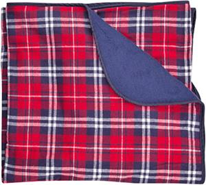 Boxercraft Premium Plaid Flannel Blankets