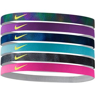 NIKE Printed Headbands (assorted 6pk)