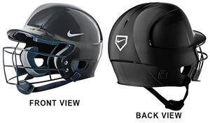 NIKE N1 Show Helmet W/Baseball Cage & Chin Strap