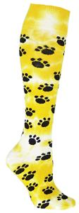 Red Lion Tie Dye Paws Socks