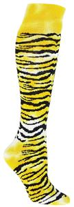 Red Lion Tie Dye Tiger Socks