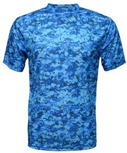 Baw Men's Xtreme-Tek Digital Camo T-Shirt
