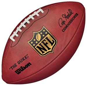 Wilson WTF1100 NFL Leather Game Footballs
