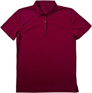 Omni Womens Cayenne Syntrel Jacquard Stripe Polo