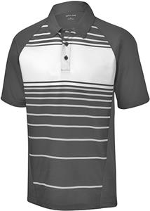 Sport-Tek Adult Dry Zone Sublimated Stripe Polo