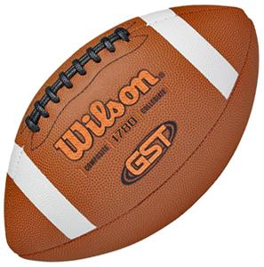 Wilson GST TDS Composite Leather Game Footballs