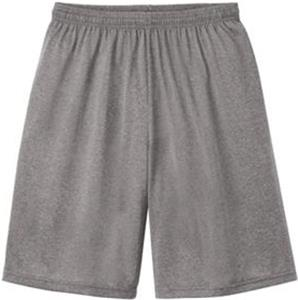 Sport-Tek Adult Heather Contender Short