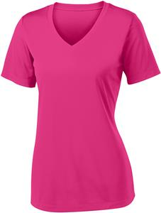 Sport-Tek Ladies V-Neck Competitor Tee