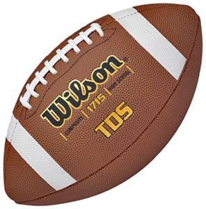 Wilson TDS Traditional Composite Game Footballs