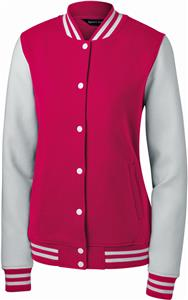 Sport-Tek Ladies Fleece Letterman Jacket