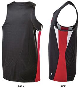 Holloway Adult Dry-Excel Vertical Track Singlets