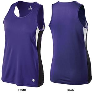 Holloway Ladies Dry-Excel Vertical Track Singlets