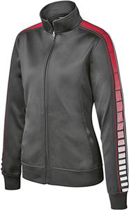 Sport-Tek Ladies Sublimation Tricot Track Jacket