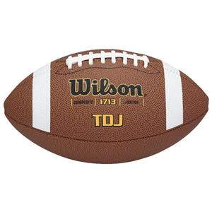 Wilson TDJ Traditional Composite Game Footballs