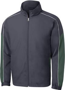 Sport-Tek Adult Piped Colorblock Wind Jacket