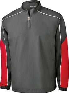 Sport-Tek Adult Piped Colorblock 1/4Zip Wind Shirt