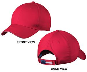 Port Authority Adult Americana Flag Sandwich Cap