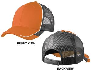 Port Authority Adult Colorblock Mesh Back Cap