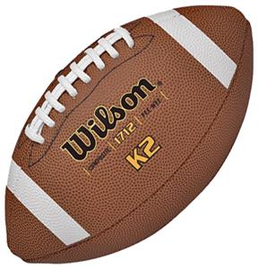Wilson K2 Traditional Composite Game Footballs