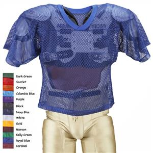 Adams Youth FJY-1 Porthole Mesh Football Jerseys