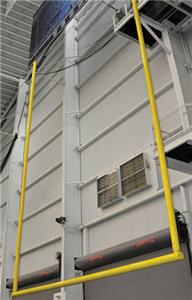 Jaypro Retractable Ceiling Suspended Goal Post
