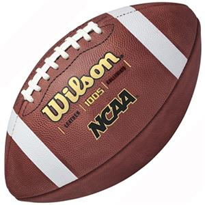 Wilson NCAA 1005 Traditional Game Footballs