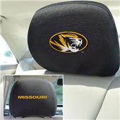 Fan Mats University of Missouri Head Rest Covers