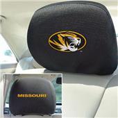 Fan Mats University of Missouri Head Rest Covers