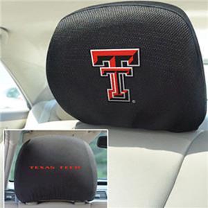 Fan Mats Texas Tech University Head Rest Covers