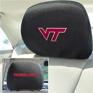 Fan Mats Virginia Tech Head Rest Covers