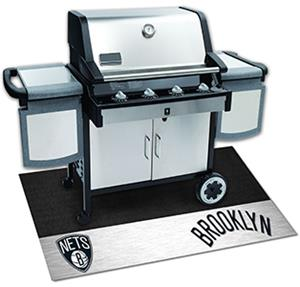 Fan Mats NBA Brooklyn Nets Grill Mat