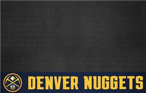 Fan Mats NBA Denver Nuggets Grill Mat