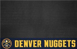Fan Mats NBA Denver Nuggets Grill Mat