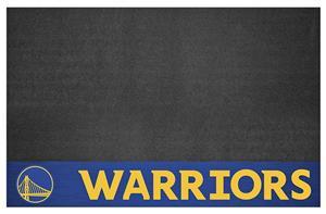 Fan Mats NBA Golden State Warriors Grill Mat