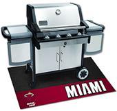 Fan Mats NBA Miami Heat Grill Mat