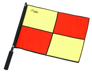 Champion Sports Official Checkered Flags w/ Border