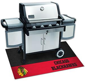 Fan Mats NHL Chicago Blackhawks Grill Mat