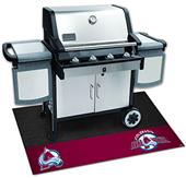 Fan Mats NHL Colorado Avalanche Grill Mat