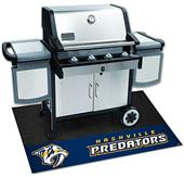 Fan Mats NHL Nashville Predators Grill Mat
