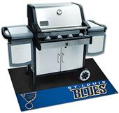 Fan Mats NHL St. Louis Blues Grill Mat