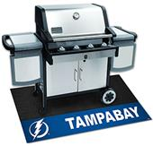 Fan Mats NHL Tampa Bay Lightning Grill Mat