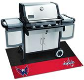Fan Mats NHL Washington Capitals Grill Mat
