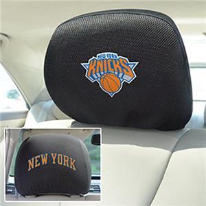Fan Mats NBA New York Knicks Head Rest Covers