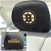 Fan Mats NHL Boston Bruins Head Rest Covers